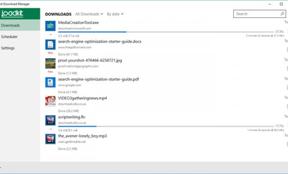Loadkit Download Manager Ekran Görüntüleri - 5