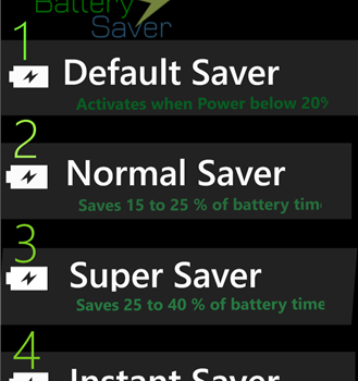 Lumia Battery Saver and Booster Ekran Görüntüleri - 2