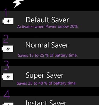 Lumia Battery Saver & Booster Ekran Görüntüleri - 2