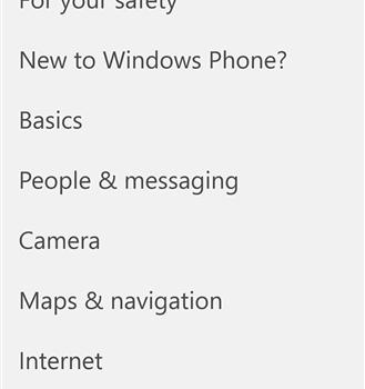 Lumia Help+Tips Ekran Görüntüleri - 2