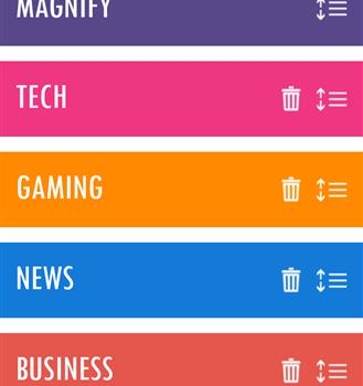 Magnify News Reader Ekran Görüntüleri - 1