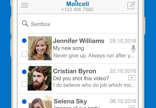 Mailcell Ekran Görüntüleri - 2