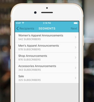MailChimp Snap Ekran Görüntüleri - 1