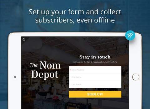 MailChimp Subscribe Ekran Görüntüleri - 1