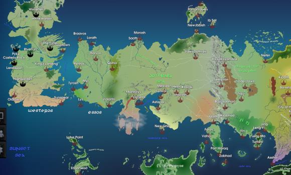 Map for Game of Thrones Ekran Görüntüleri - 5