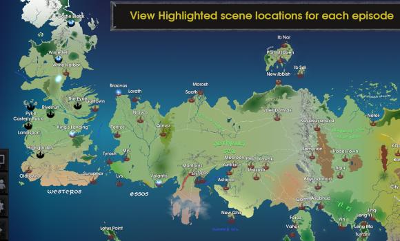 Map for Game of Thrones Ekran Görüntüleri - 2