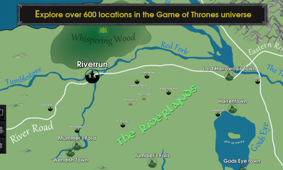 Map for Game of Thrones Ekran Görüntüleri - 1