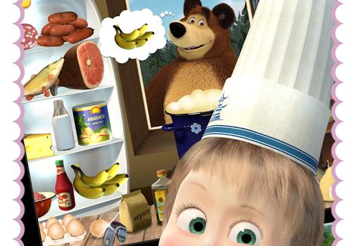 Masha and Bear: Cooking Dash Ekran Görüntüleri - 2