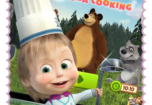 Masha and Bear: Cooking Dash Ekran Görüntüleri - 4