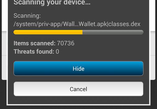 McAfee Mobile Security Ekran Görüntüleri - 2