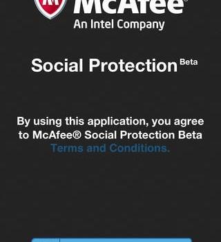 McAfee Social Protection Ekran Görüntüleri - 2