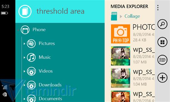 Media Explorer Ekran Görüntüleri - 3