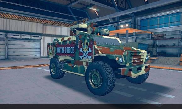 Metal Force: War Modern Tanks Ekran Görüntüleri - 2