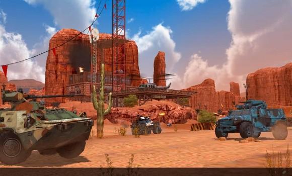 Metal Force: War Modern Tanks Ekran Görüntüleri - 5