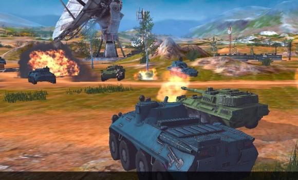 Metal Force: War Modern Tanks Ekran Görüntüleri - 3