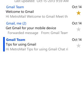MetroMail Ekran Görüntüleri - 3