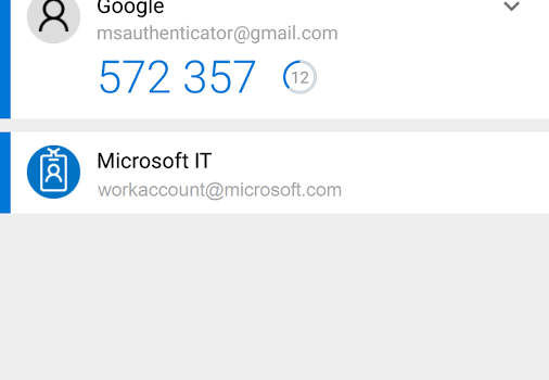 Microsoft Authenticator Ekran Görüntüleri - 4