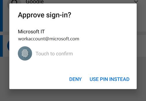 Microsoft Authenticator Ekran Görüntüleri - 2