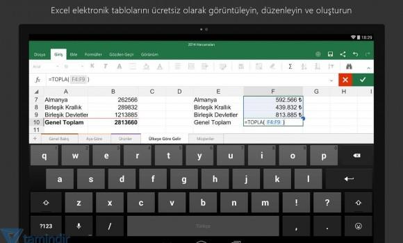 Microsoft Excel Ekran Görüntüleri - 1