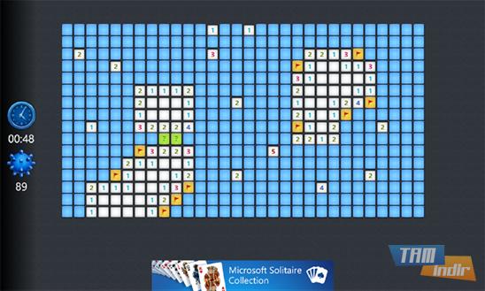 Microsoft Minesweeper Ekran Görüntüleri - 2