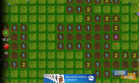 Microsoft Minesweeper Ekran Görüntüleri - 1