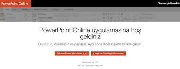 Microsoft PowerPoint Online Ekran Görüntüleri - 3