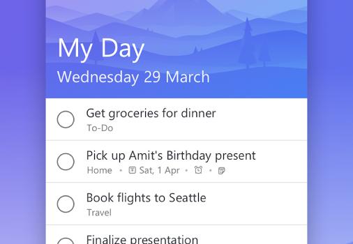 Microsoft To-Do Ekran Görüntüleri - 1