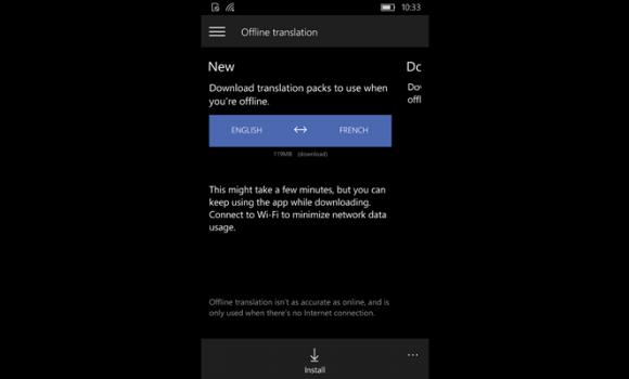 Microsoft Translator Ekran Görüntüleri - 2