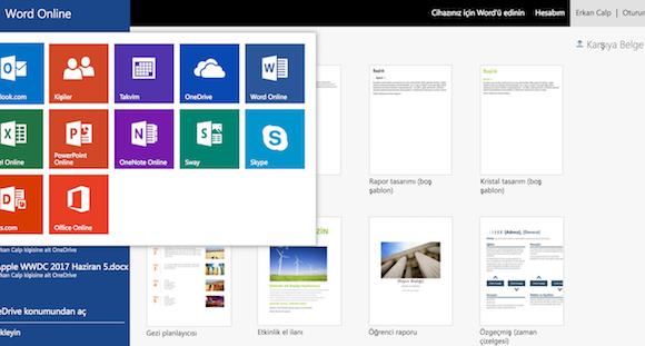 Microsoft Word Online Ekran Görüntüleri - 2