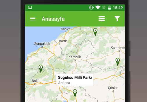 Milli Parklar Ekran Görüntüleri - 3