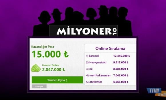 Milyoner OL Ekran Görüntüleri - 3