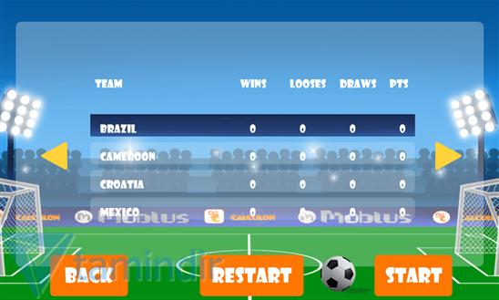 Mini Football: Mobius Ekran Görüntüleri - 1