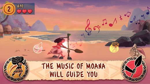 Moana: Rhythm Run Ekran Görüntüleri - 5