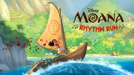 Moana: Rhythm Run Ekran Görüntüleri - 1