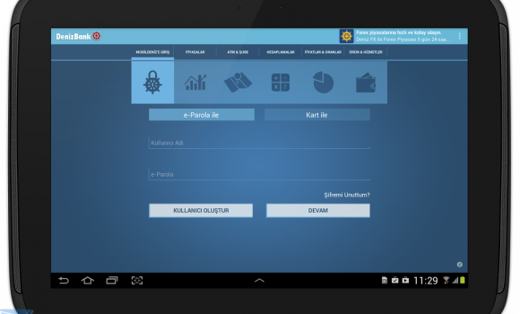 MobilDeniz Tablet Ekran Görüntüleri - 3