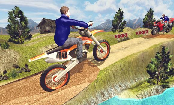 Moto Hill Racing 3D Ekran Görüntüleri - 3