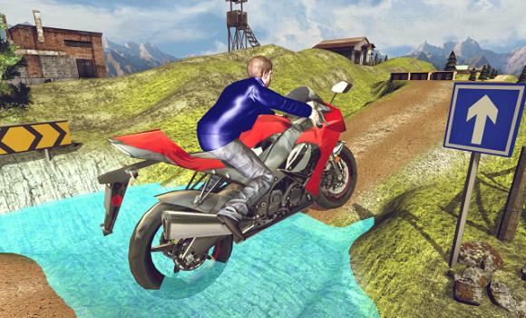 Moto Hill Racing 3D Ekran Görüntüleri - 2