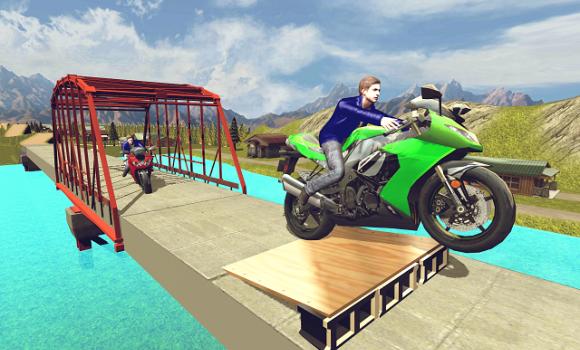 Moto Hill Racing 3D Ekran Görüntüleri - 1