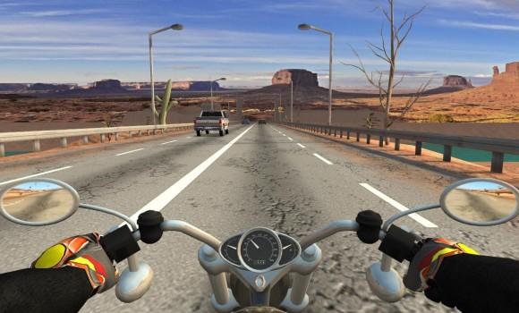 Moto Racing 3D Ekran Görüntüleri - 2