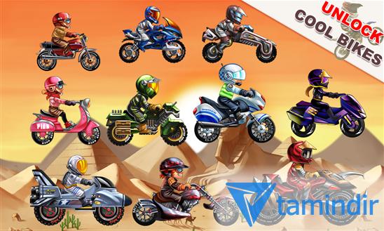 Motor Race: Stunt Bike Ekran Görüntüleri - 3