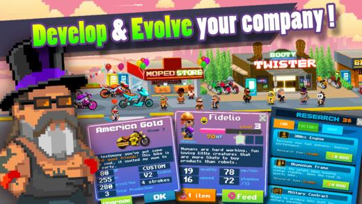 Motor World: Bike Factory Ekran Görüntüleri - 1