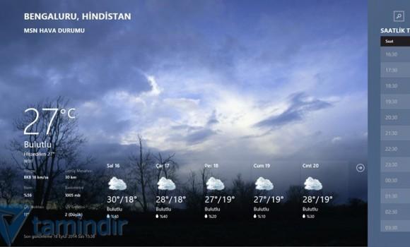 MSN Weather Ekran Görüntüleri - 3