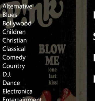 Music Downloader WP8 Ekran Görüntüleri - 2