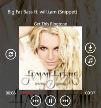 Music Downloader WP8 Ekran Görüntüleri - 1