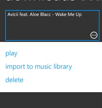 Music Import Ekran Görüntüleri - 1