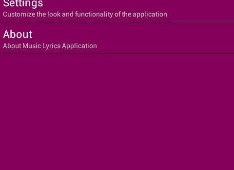 Music Lyrics Finder Ekran Görüntüleri - 3