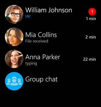 myChat Ekran Görüntüleri - 2