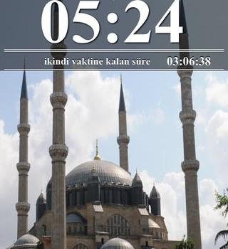Namaz Vakti Ekran Görüntüleri - 3