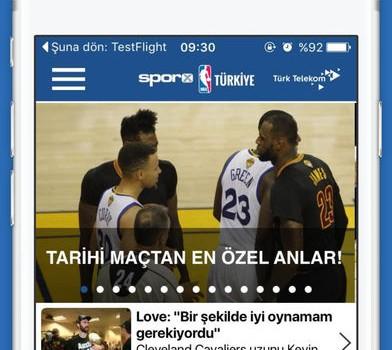 NBA Türkiye Ekran Görüntüleri - 5