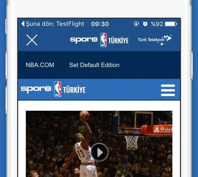 NBA Türkiye Ekran Görüntüleri - 4